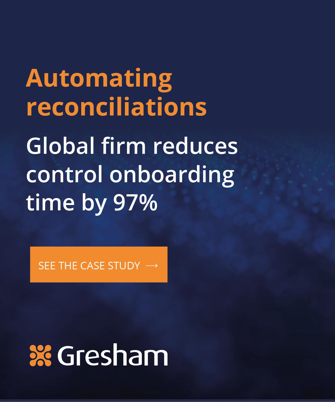 Gresham Hubspot Automating reconciliations