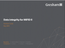 Data integrity for MiFID II