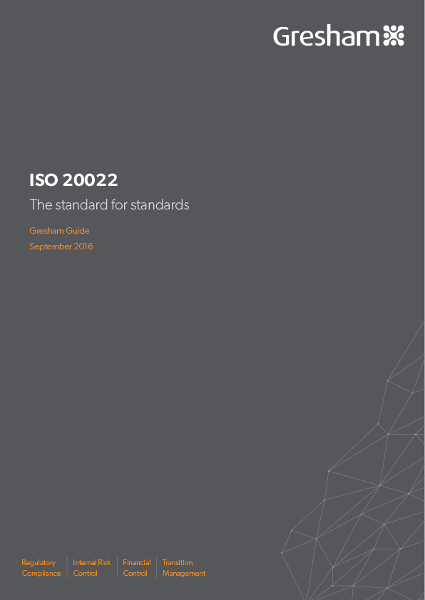 ISO 20022 - the standard of standards