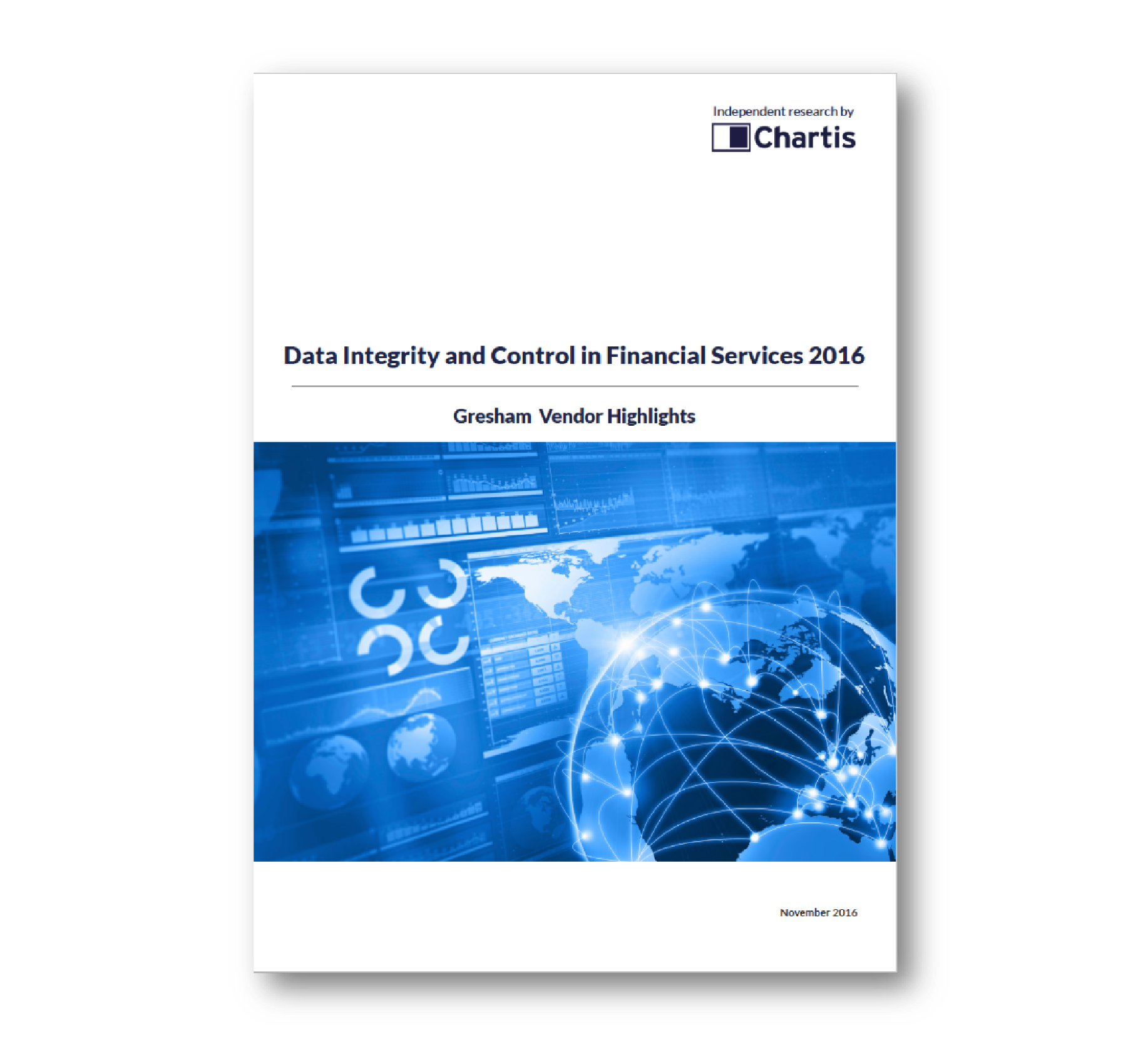Chartis: Data Integrity and Control in Financial Services 2016