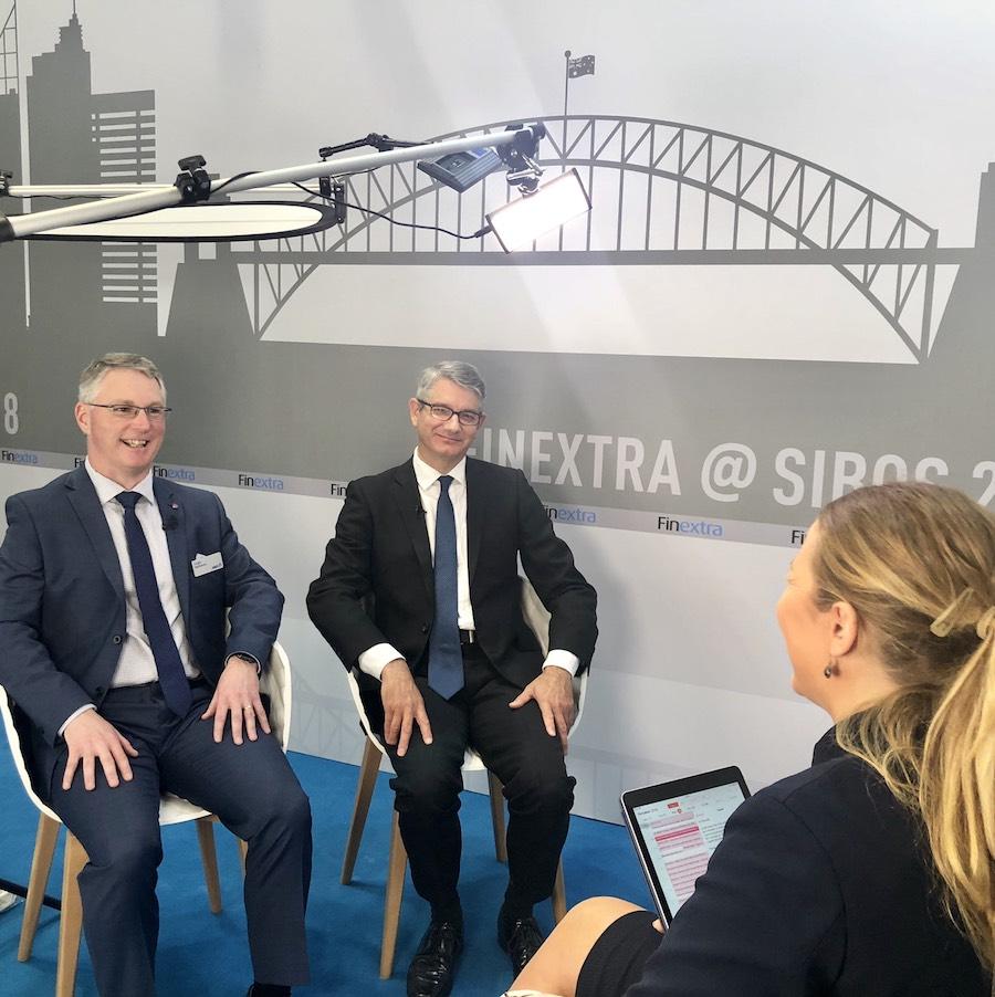 Video: Finextra interviews ANZ & Gresham at Sibos
