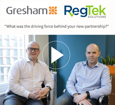 Gresham and RegTek: partnership and industry challenges