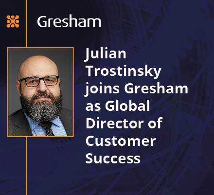 Gresham Technologies continues next stage of growth with new senior appointment
