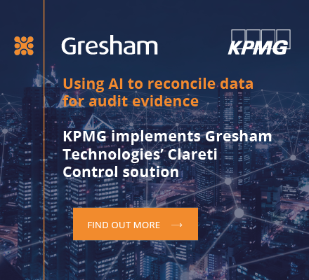 KPMG and Gresham Technologies:Using AI to reconcile data for audit evidence