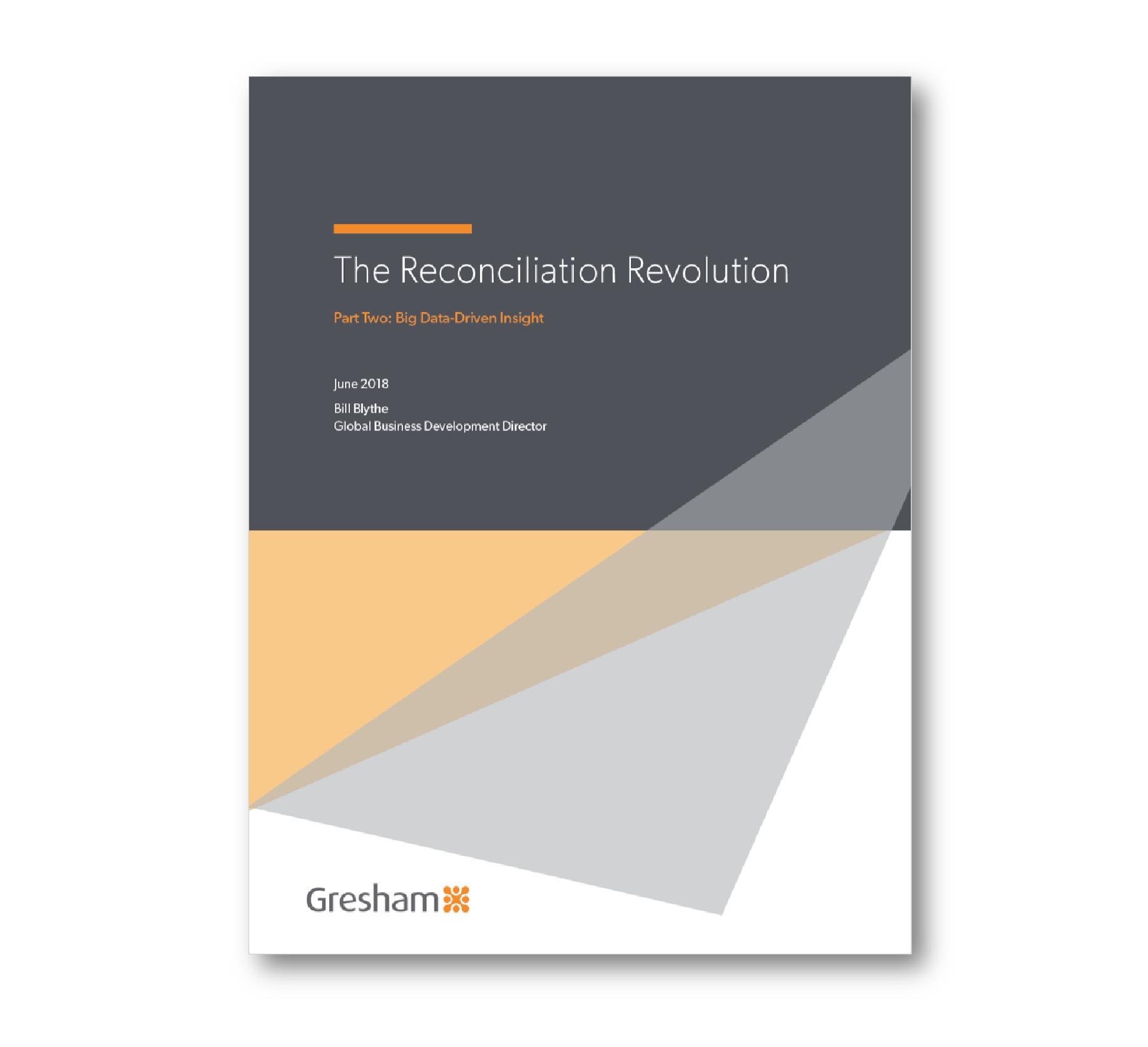 The Reconciliation Revolution - Part Two