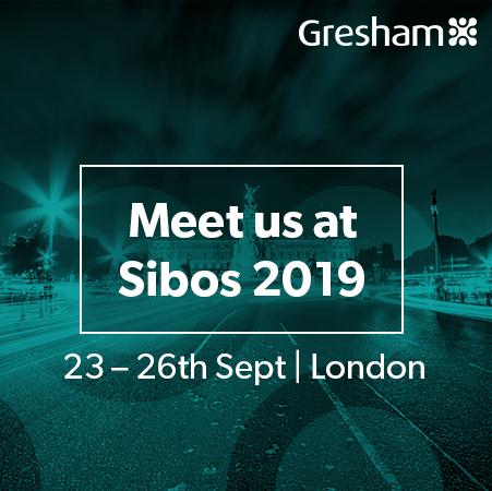Meet Gresham at SIBOS!