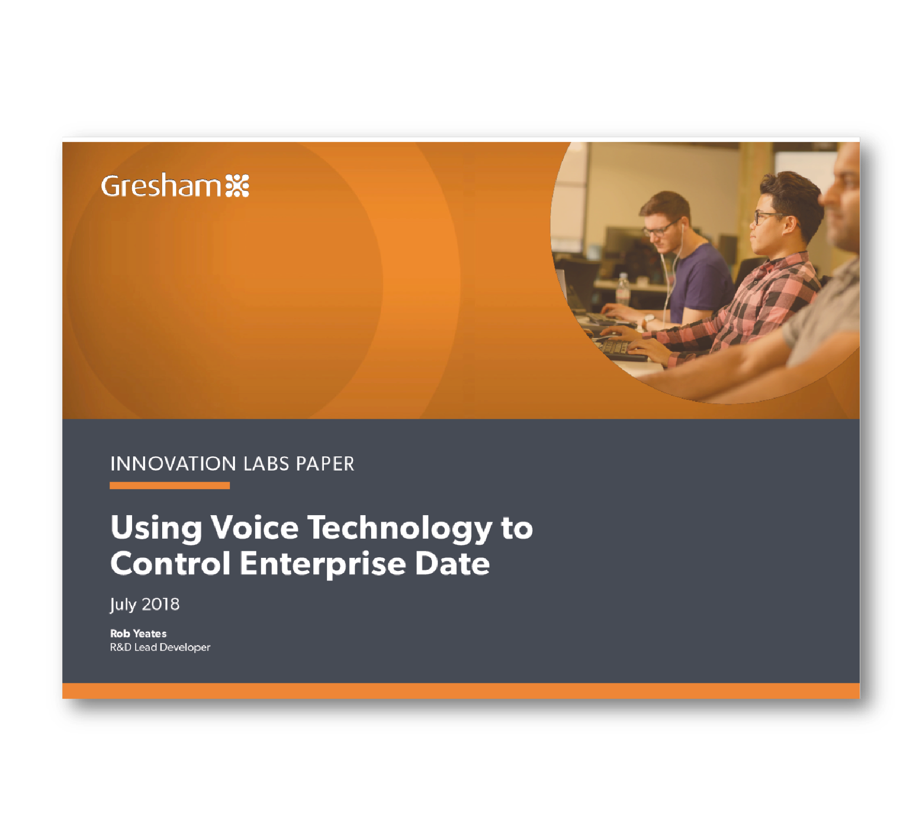 Using Voice Technology to Control Enterprise Data