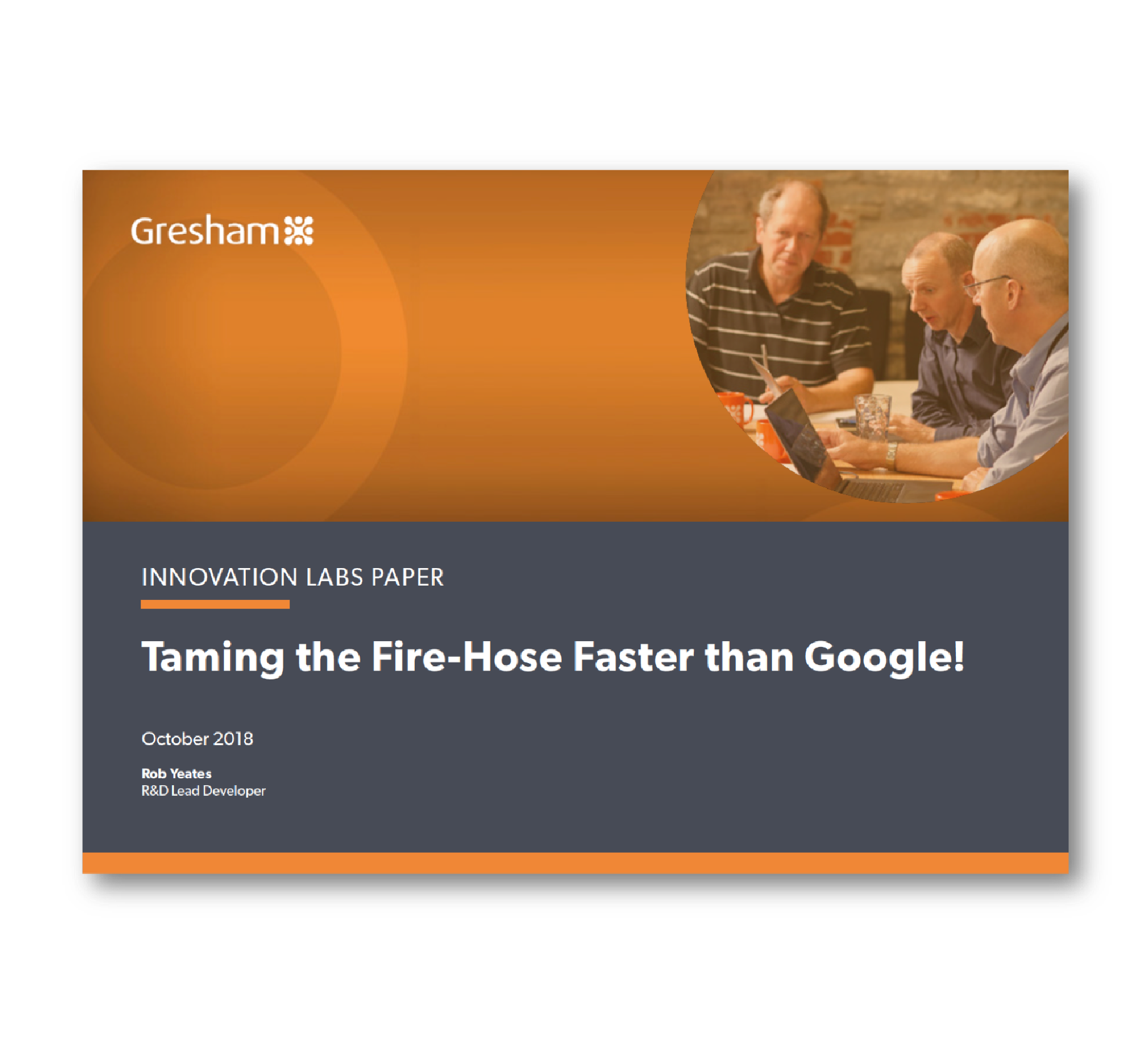Taming the Fire-Hose Faster than Google!